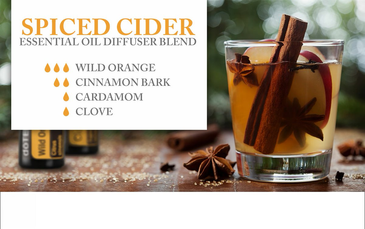 Spice up your advent life! Spiced Cider #EssentialOils Blend is here! #doTERRApic.twitter.com/VGslYrEmvm