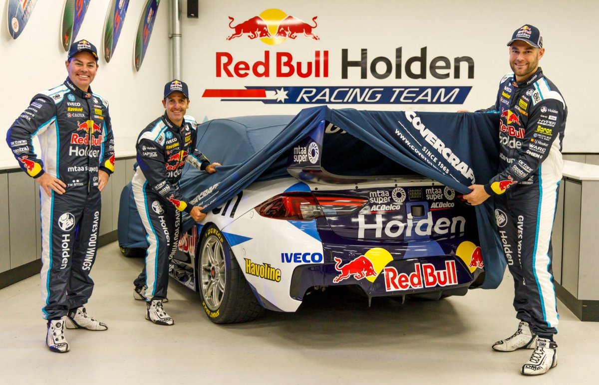 The 2020 Motorsport season is here! We can't wait to see the new @RedBullHolden livery dominate the track. Head to @Holden_Msport tomorrow for the full reveal.   #WeGotThis #Holden #RedBullHolden #VASC @craiglowndes888 @jamiewhincup @shanevg97O https://t.co/V2xxV46z46