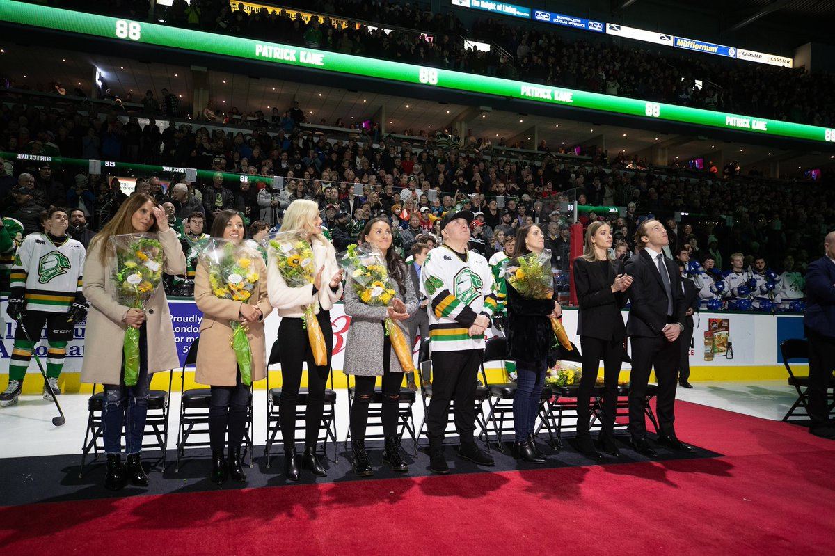 Thank you @GoLondonKnights for a night my family and I will never forget