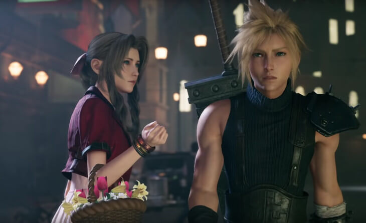 Square-Enix's first trailer for Final Fantasy VII: Remake in four years featured Cloud and Aerith's first meeting #FF7R <br>http://pic.twitter.com/o7QxwwppEW