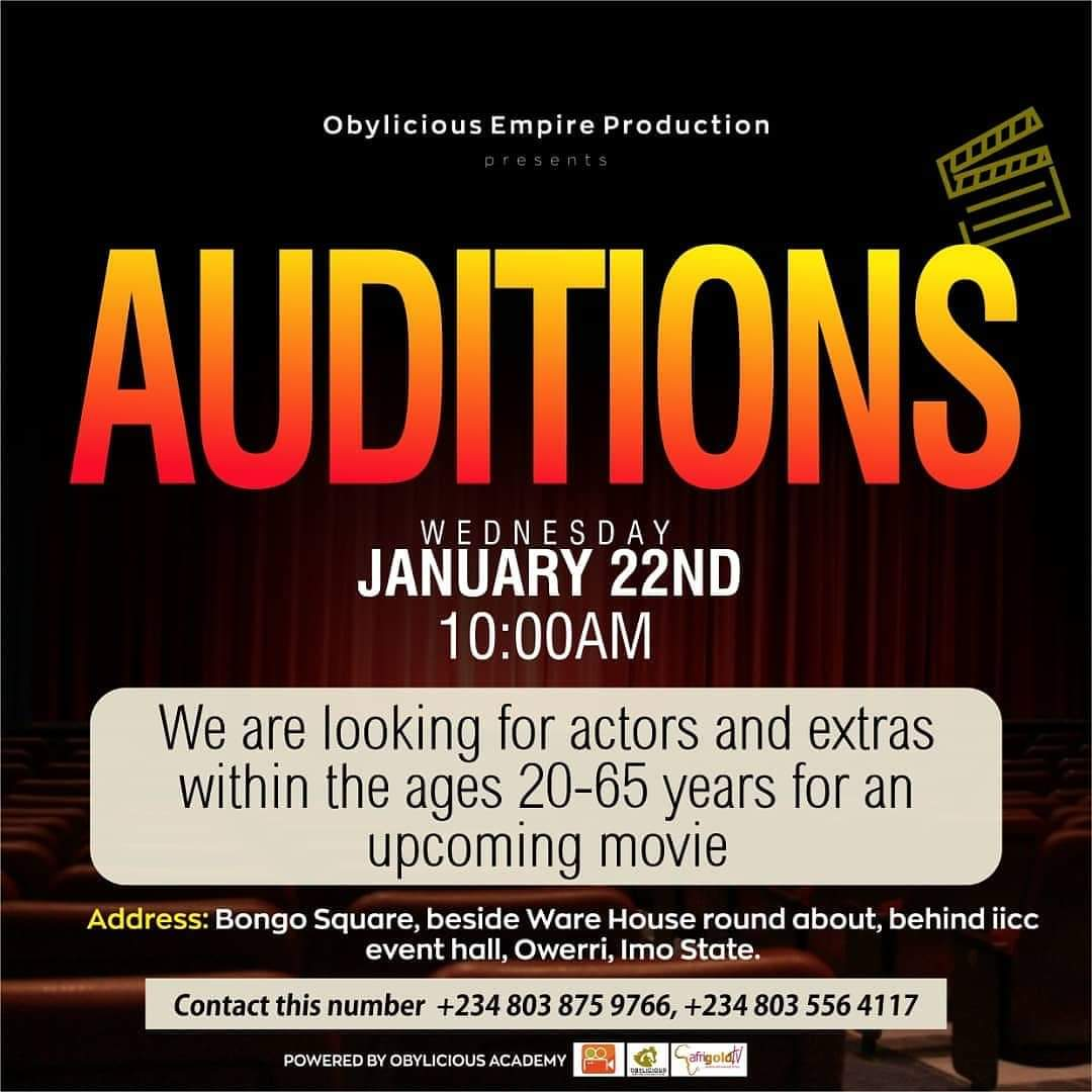 Auditions. Location, East.pic.twitter.com/ol3WAVD4R0