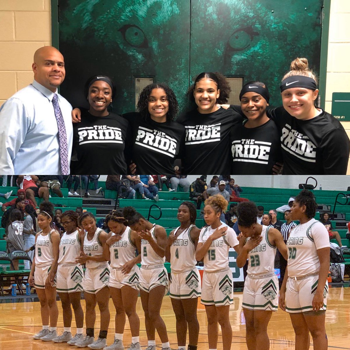 Congrats to Coach Prejean on his 100th win! You deserve it! @SpringISD @SPRINGHIGHLIONS @LadyLionBB #mbybob https://t.co/8ysximuGKX