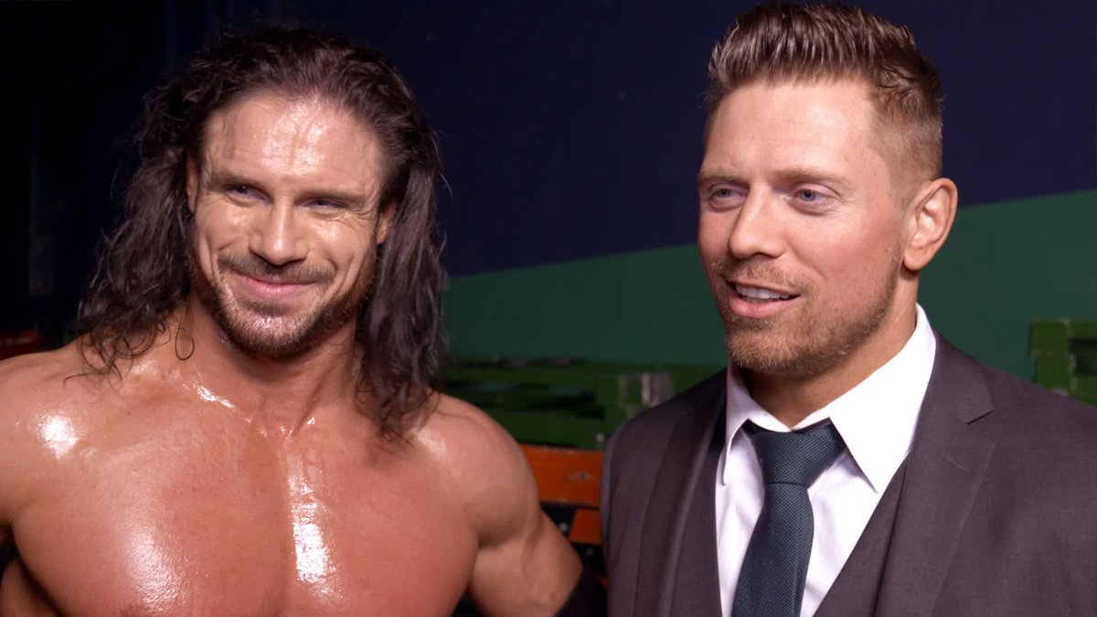 """EXCLUSIVE: mikethemiz loved EVERYTHING about TheRealMorrison's return match, 𝘦𝘹𝘤𝘦𝘱𝘵 for the audience. #SmackDown """