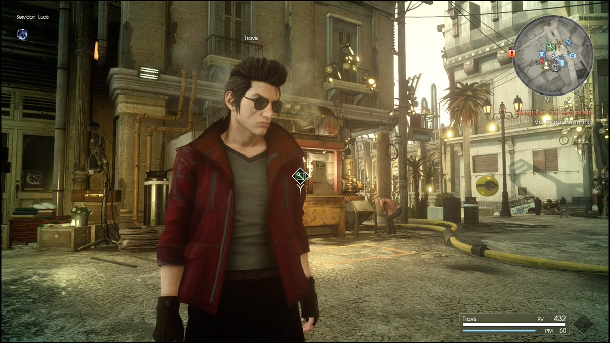 Made Travis in Comrades and it's basically just Ignis with sunglasses