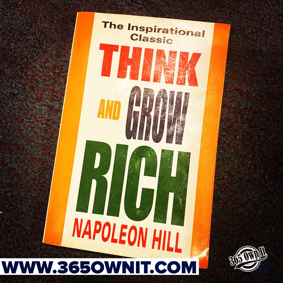 Need some motivation to get started? If you haven't read this book yet you should. Think and grow rich by Napoleon Hill #follow us on our journey to success! #thinkandgrowrich #napoleonhill #addictedtosuccess #keeplearning #staymotivated #keepitrealpic.twitter.com/QwQNytn4gZ