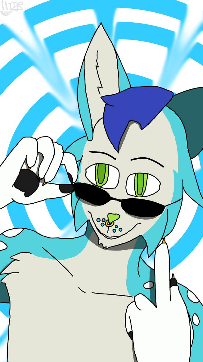 To a fellow YouTuber and furry @BlueFolf  I hope you like it and injoy it<br>http://pic.twitter.com/WNxF6Jg8LE