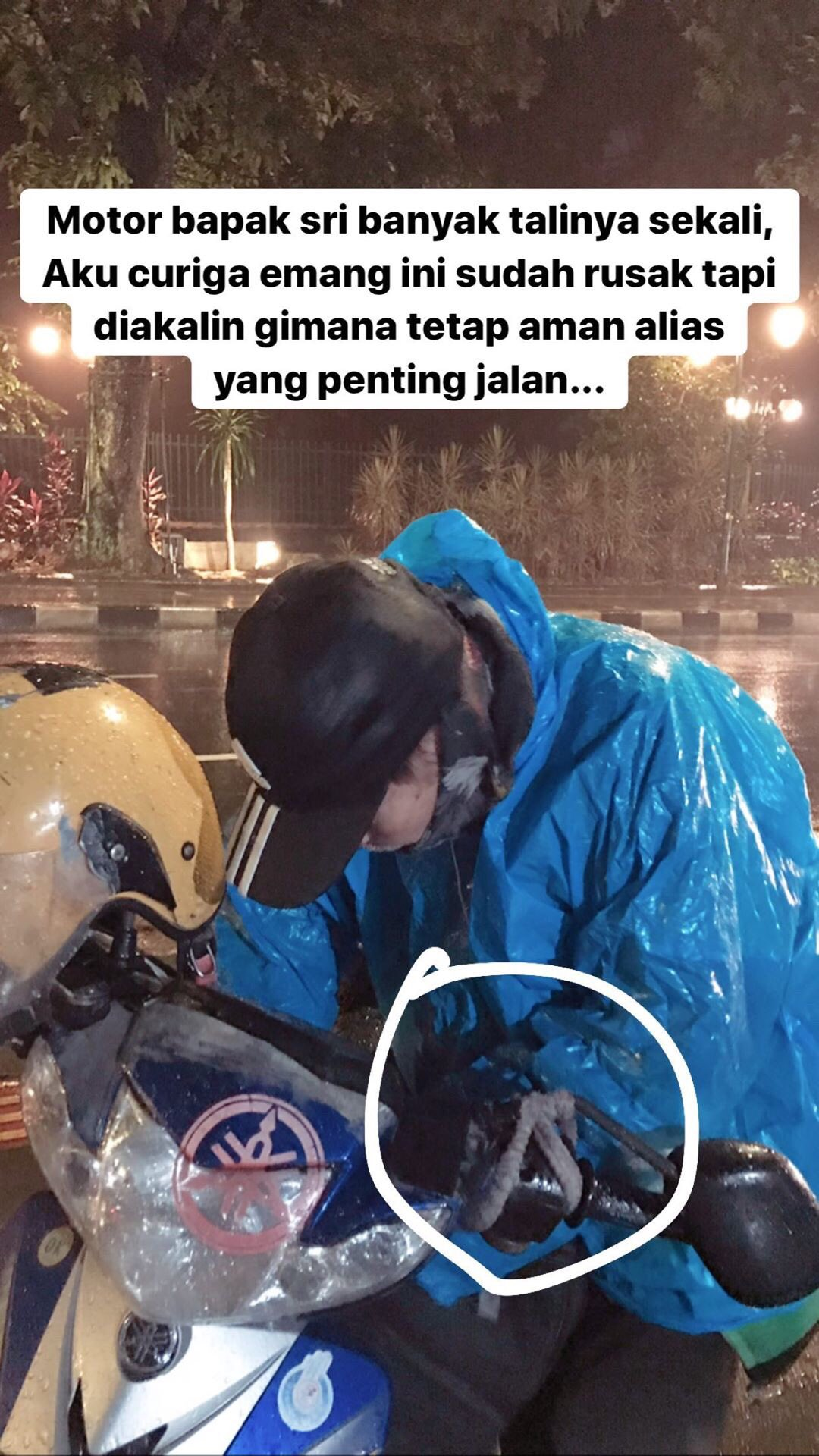 Driver Ojol yang Viral di Bogor