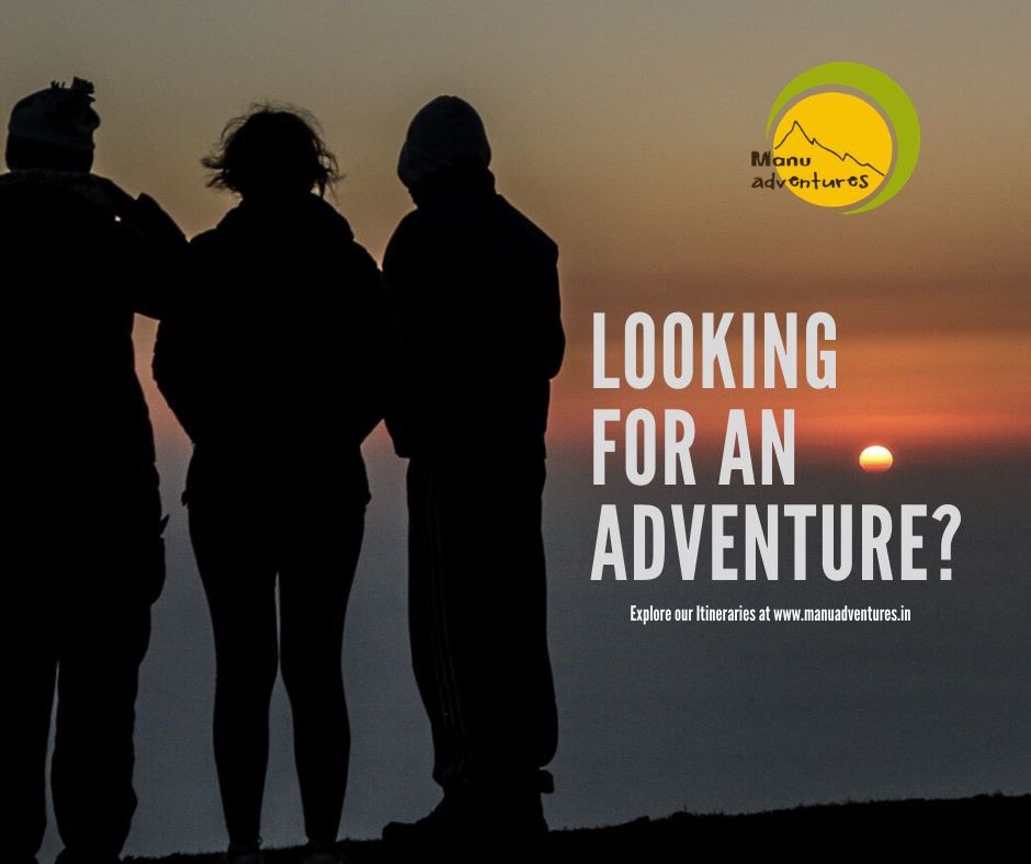 Presenting a wide array of #adventure activities in #North #India like tandem #Paragliding, #River crossing, #Mountain #climbing, #Jungle camping, Day #Hikes etc with our experienced team.👍 Explore our Itineraries at http://www.manuadventures.in  info@manuadventures.in +91 97368 71426