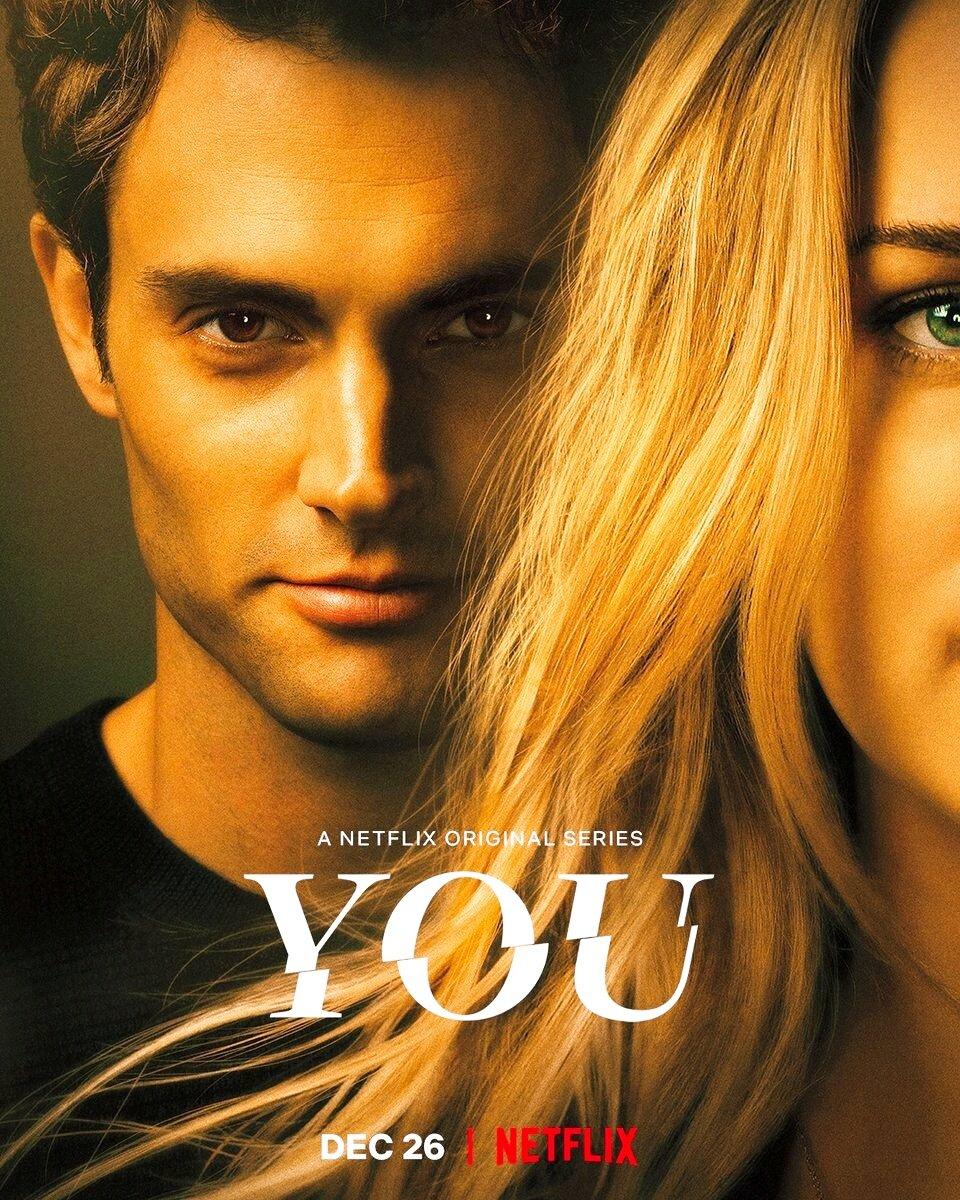 Netflixのサイコパスストーカードラマ「YOU」 が面白すぎて気づいたら朝5時になってた。本屋で一目惚れした女の子を勝手に運命の人だと思い込みネットストーキングから始まり自分を好きになるように仕向ける綿密な計画をどんどん過激にエスカレートさせていくサイコパスから目が離せなくなる…!