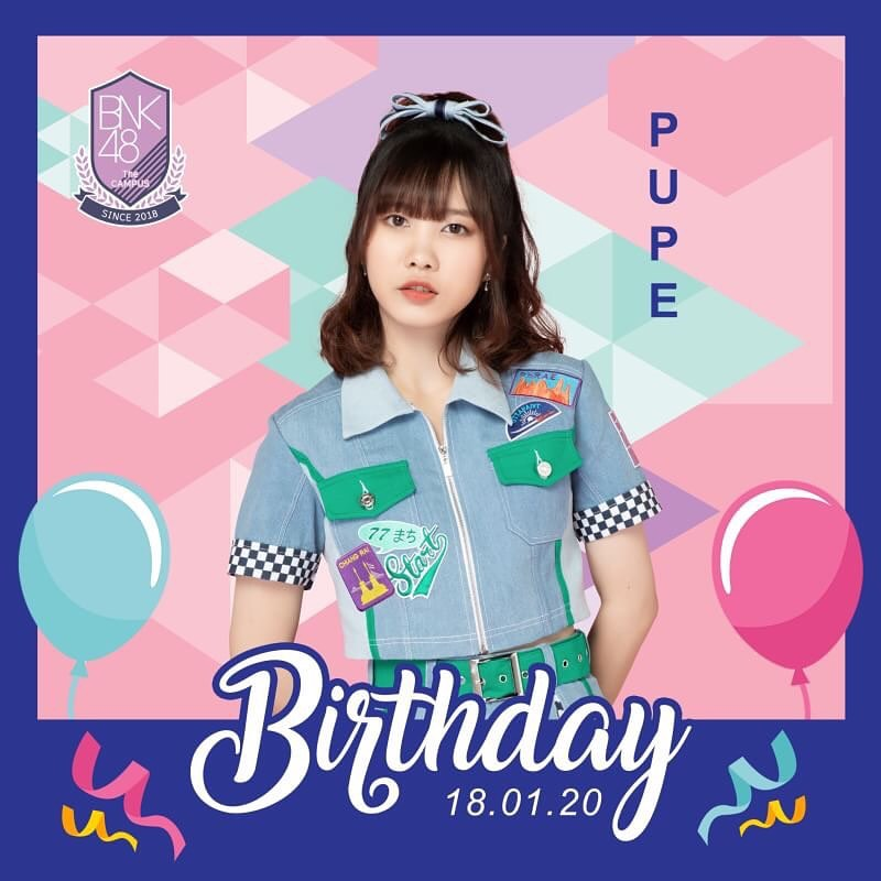 Happy Birthday 🎂🎂 I wish you abundant happiness 💕  #PupéBNK48 #HappyPupéDay https://t.co/jlky6R57bJ