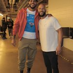Image for the Tweet beginning: Catching up in Dallas..   @common
