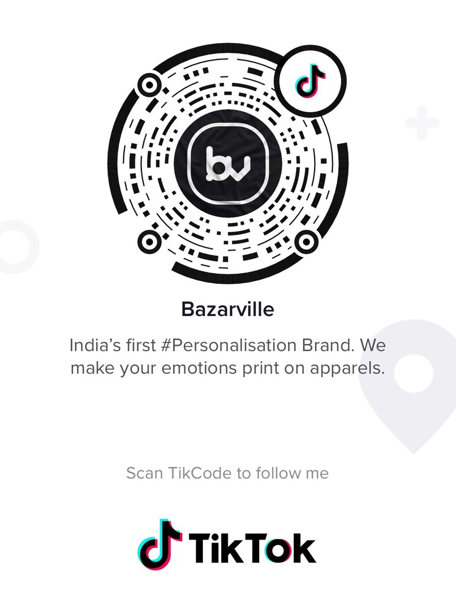 Showcase anything you got from Bazarville and we will repost your video on our page.  Follow us on Tiktok - @bazarville  https://vm.tiktok.com/4RTFbr/  #tiktok #love #instagram #musically #memes #tiktokindia #follow #like #tiktokmemes #viral #trending #india  #tiktokgirls #bazarville pic.twitter.com/ymu12dZQwy