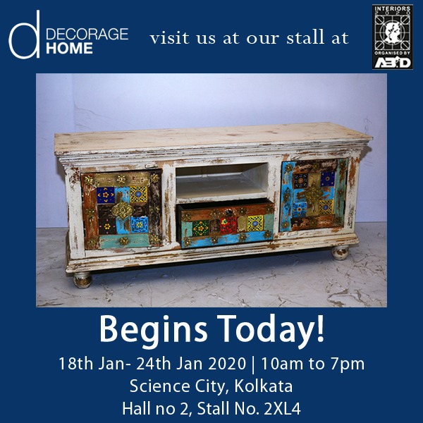 Is your home in need for some distressed touch? Drop in to our stall at the ABID Interiors 2020 today, to add some fun distressed furniture to your home. #ABIDInteriors2020 #DistressedFurniture #ExhibitionAlert #InteriorExhibition #DistressedLook #InteriorTrends #HomeDecorpic.twitter.com/6cWHhqBZQN