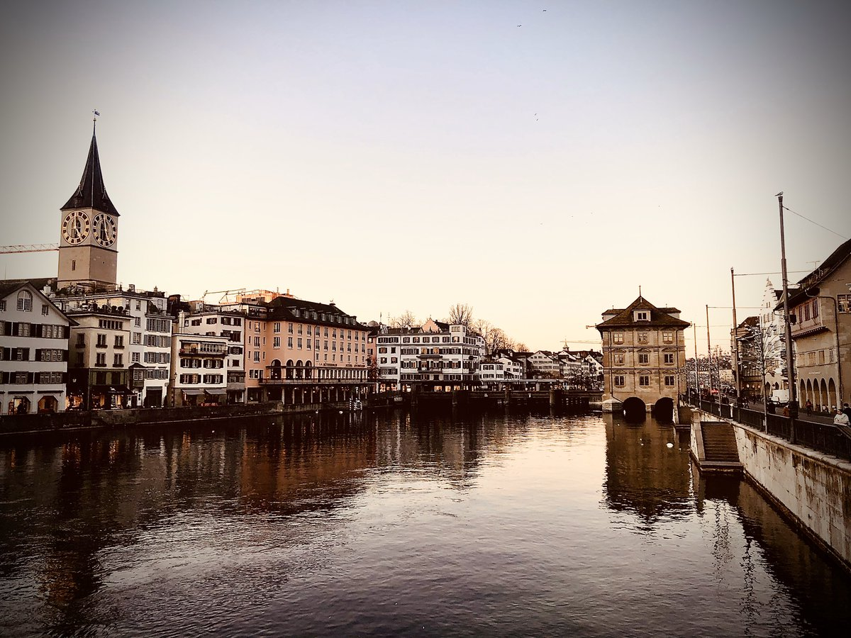 Bye, Zurich. You are beautiful. See you again some day 🙏