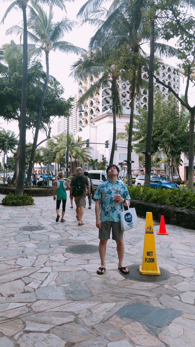 ハワイが26℃だったからって寒暖差を忘れ2℃の真冬の日本に真夏の服装のまま帰国した愚かな男、参上!!!!!!!!!
