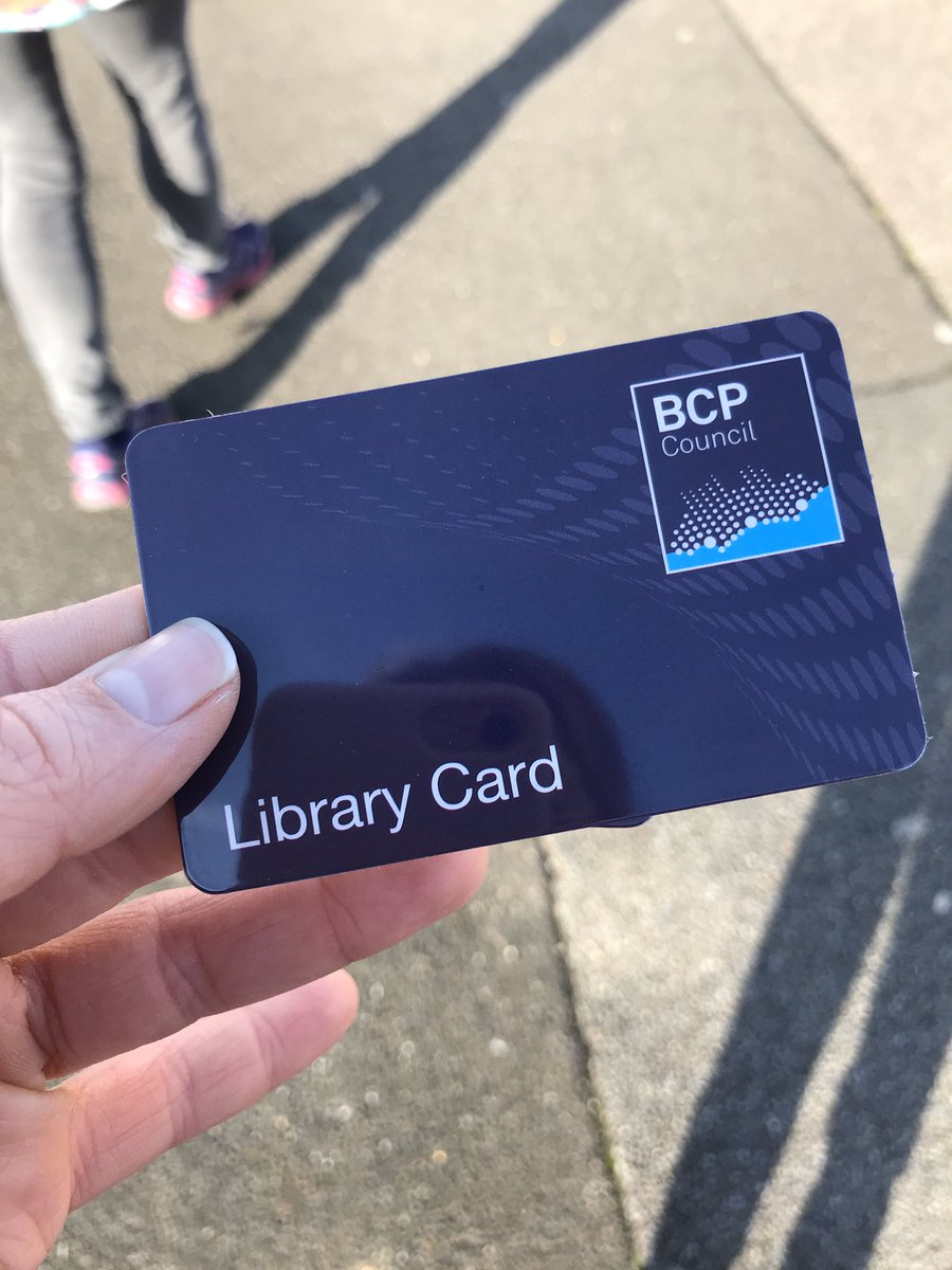 Ensuring I stick to my resolutions today getting a new library card. Reduce spending and to be more sustainable.