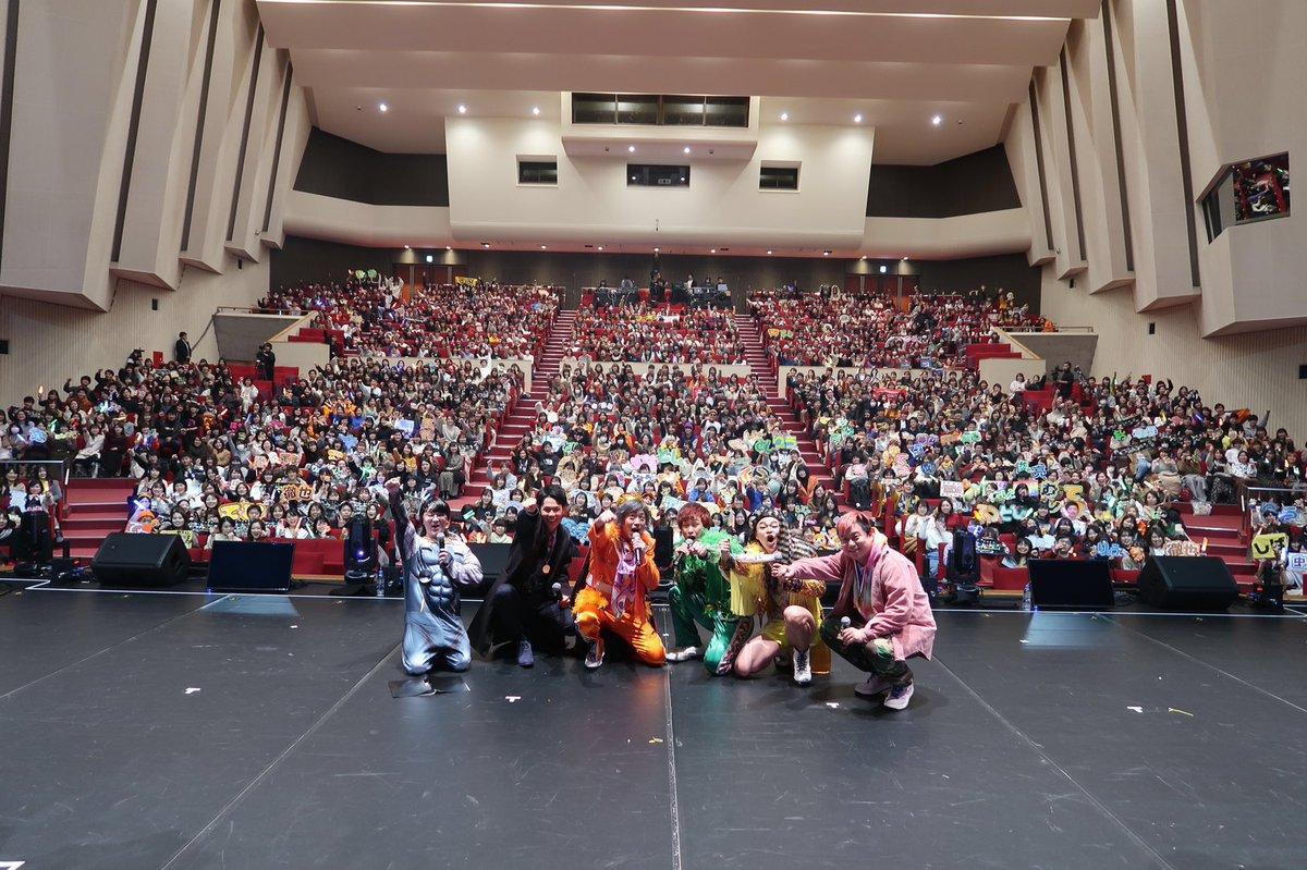 ドンビキツアーin島根!! 来てくれた方、生配信を観てくれた方、ありがとうございました!!!  島根の英雄として再びこの地に舞い戻れて嬉しかったです!! またこの個人的な姉妹都市に遊びに来れる日を楽しみにしてます!!!!  (写真… https://t.co/dXfcDTPqmD