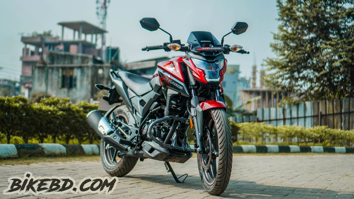 Honda X Blade, a bike which caught the eyes of many bike enthusiasts in Bangladesh. With this bike using the same engine as Honda CB Hornet 160R  Details: https://youtu.be/YQG38AOX3Zg  #honda #xblade #bike #bikes #bikers #bikebd #bikelife #bikelover #hondaxblade #160ccpic.twitter.com/2iS63shsAc