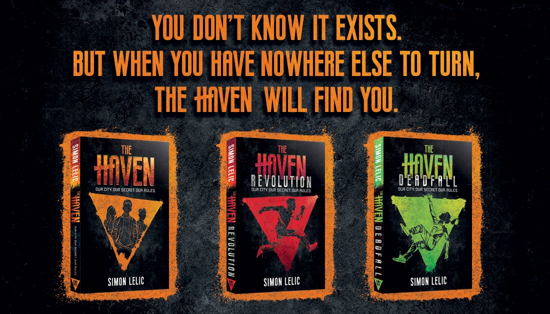 Kids! Teens! Looking for something to keep your bored, hyperactive parents entertained over the interminable weekends while theres no work to keep them busy? Toss them @Simon_Lelics THE HAVEN (book 3 out 6 Feb) while you grab a precious hour on the Xbox. #ChildrensBooks #KidLit