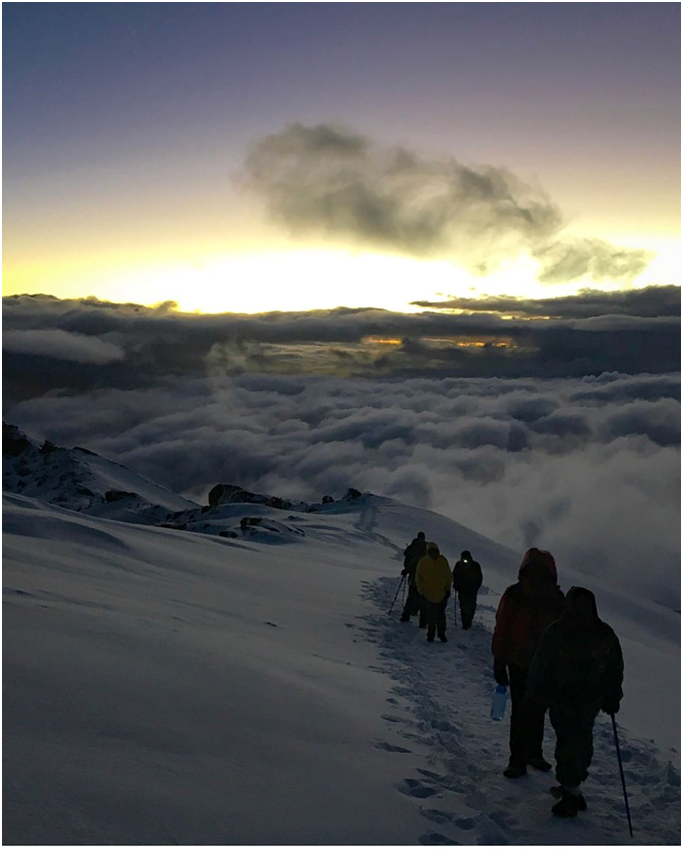 Can you tell the distance from Mount Kilimanjaro to the equator?  #kilimanjaro #rocks #mtkilimanjaro #mountkilimanjaro #africa #tanzania #adventure #outdoor #nature #volcano #wildlife #mountains #trek #hike #climb #summer #summit #snow #cold #clouds #wild