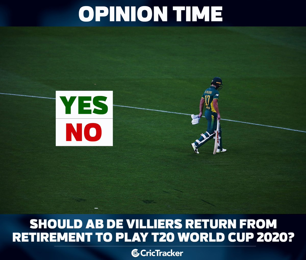 Voice out your opinions. #cricket #abdevilliers<br>http://pic.twitter.com/QDlKObpiAH