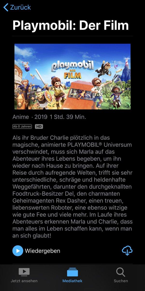 Dem Sohnemann einen neuen Kinofilm organisiert #playmobilderfilm #playmobilpic.twitter.com/0FO7JgFeHT