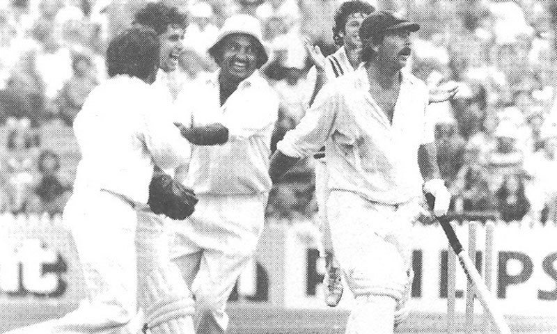 #OnThisDay in 1977, Pakistan gained their first Test victory in Australia. Asif Iqbal's 120 and 18 wickets shared by @ImranKhanPTI and Sarfaraz Nawaz played a key role in the historic victory at the Sydney Cricket Ground. <br>http://pic.twitter.com/lXEADy5huh