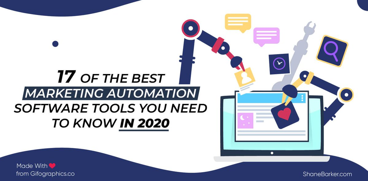 Want to find the best #marketing automation software solution for your #business? Read this post to discover the 17 best marketing software tools for 2020. https://buff.ly/2NQ3UvA    via @shane_barkerpic.twitter.com/irQCuB8nrM