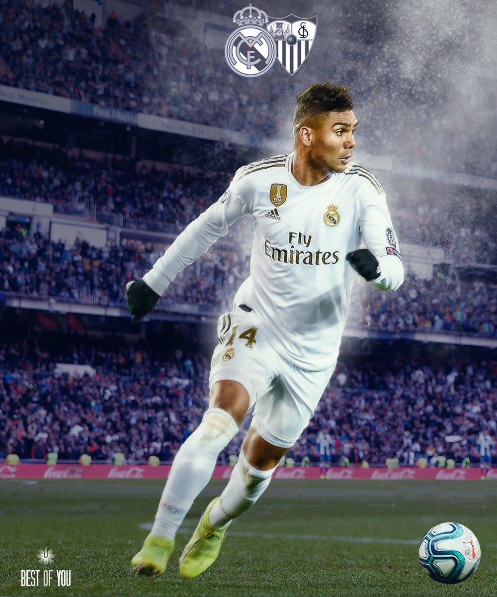 #HALAMADRID  #RealMadrid #RMLiga   @realmadrid 🆚 @SevillaFC  📍 Estadio Santiago Bernabéu 🏆 @LaLigaBRA  🇧🇷 12:00 h 🇪🇸 16:00 h