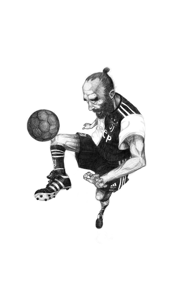 #juventus fan. #drawingoftheday #drawing #detailed #illustration #illustrationart #illustrationartists #art #artwork #football #soccer #play #lovepic.twitter.com/C7M7x1FrSl