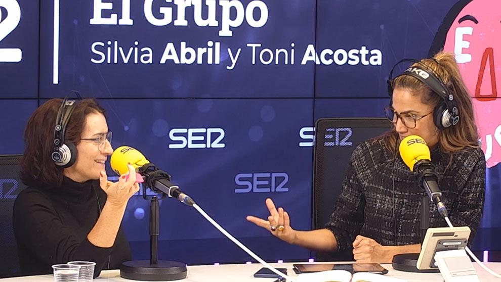 'A los Goya se va meada', Sílvia Abril y Toni Acosta en 'El Grupo'.  Video y podcast: https://elterrat.com/el-grupo-1x21/