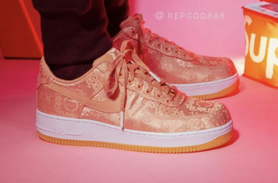 CLOT x Nike Air Force 1 Low Rose Gold Releasing Next Week - http://bit.ly/2Nxc4s8 pic.twitter.com/yHspJwFyPb