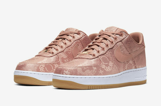 Official Images: CLOT x Nike Air Force 1 Low Rose Gold - http://bit.ly/2Tuje4i pic.twitter.com/rC7dvr94mN