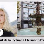 Image for the Tweet beginning: #NuitdelaLecture à #ClermontFerrand avec la
