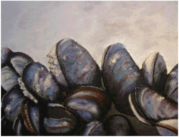 mussels I original painting  String Art http://dld.bz/eUzFd #seafood stringart foodart nautical ocean #beachhouse stylingpic.twitter.com/CridRNRBjH