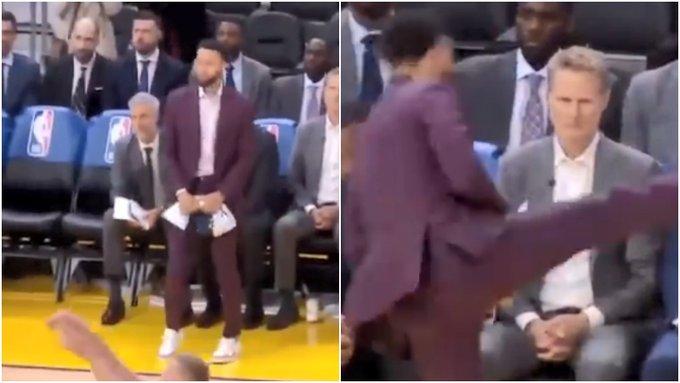 【影片】干擾罰球花樣多!柯瑞一招高抬腿對手瞬間投短,Kobe在線教學如何干擾罰球!