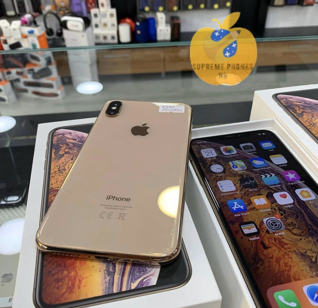 OPEN FOR BUSINESS  Iphone Xs max  Brand new/smart used  Single sim/dual sim  64GIG  Available At Affordable Prices  Place your order  Shop live or online  Nationwide delivery   Dm/Call:07032655719 Refer Your Family and Friends To patronize us  Thank you   RETWEET Please pic.twitter.com/OuxK4gv1rw