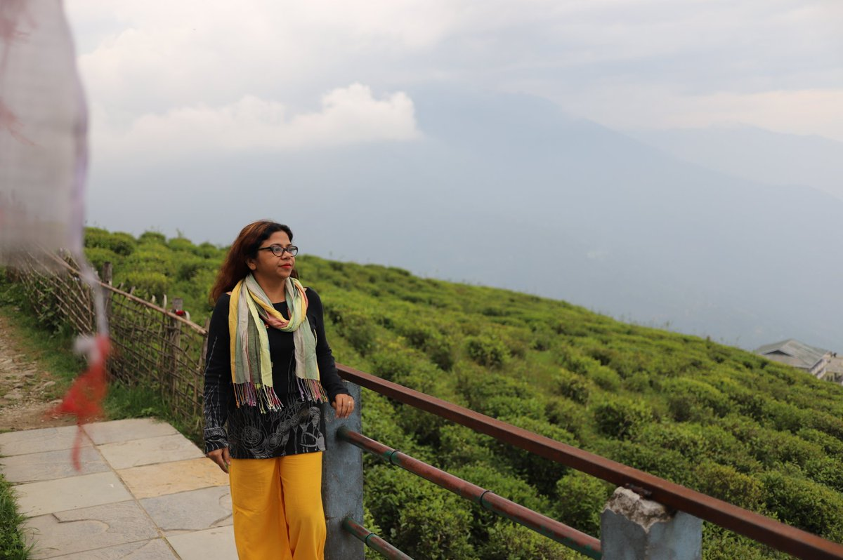 """Namaste 🙏📷  """"We are what our thoughts have made us; so take care about what you think. Words are secondary. Thoughts live; they travel far."""" #SwamiVivekananda   #WeekendVibes #SouthSikkim #Sikkim #Mountains"""