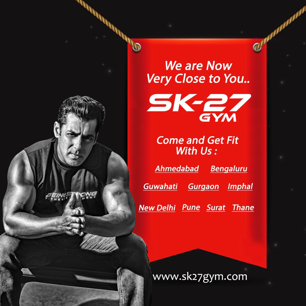 Aaj ki taaza khabar.... Hamara Being Strong Gym equipment has been supplied to more then 500 gyms in India and across the world. And our Gym Franchise SK-27 is also spreading fast, opening 10 franchise gyms in next one month!  @beingstrongind #SK27Gym @JeraiFitness247