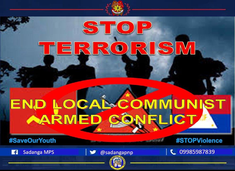 #EndLocalCommunistArmedConflict #STOPTerrorism #STOPViolence #PNPKakampiMo #PNP_PATROL_Plan2030 https://t.co/HLSz9LAlVw