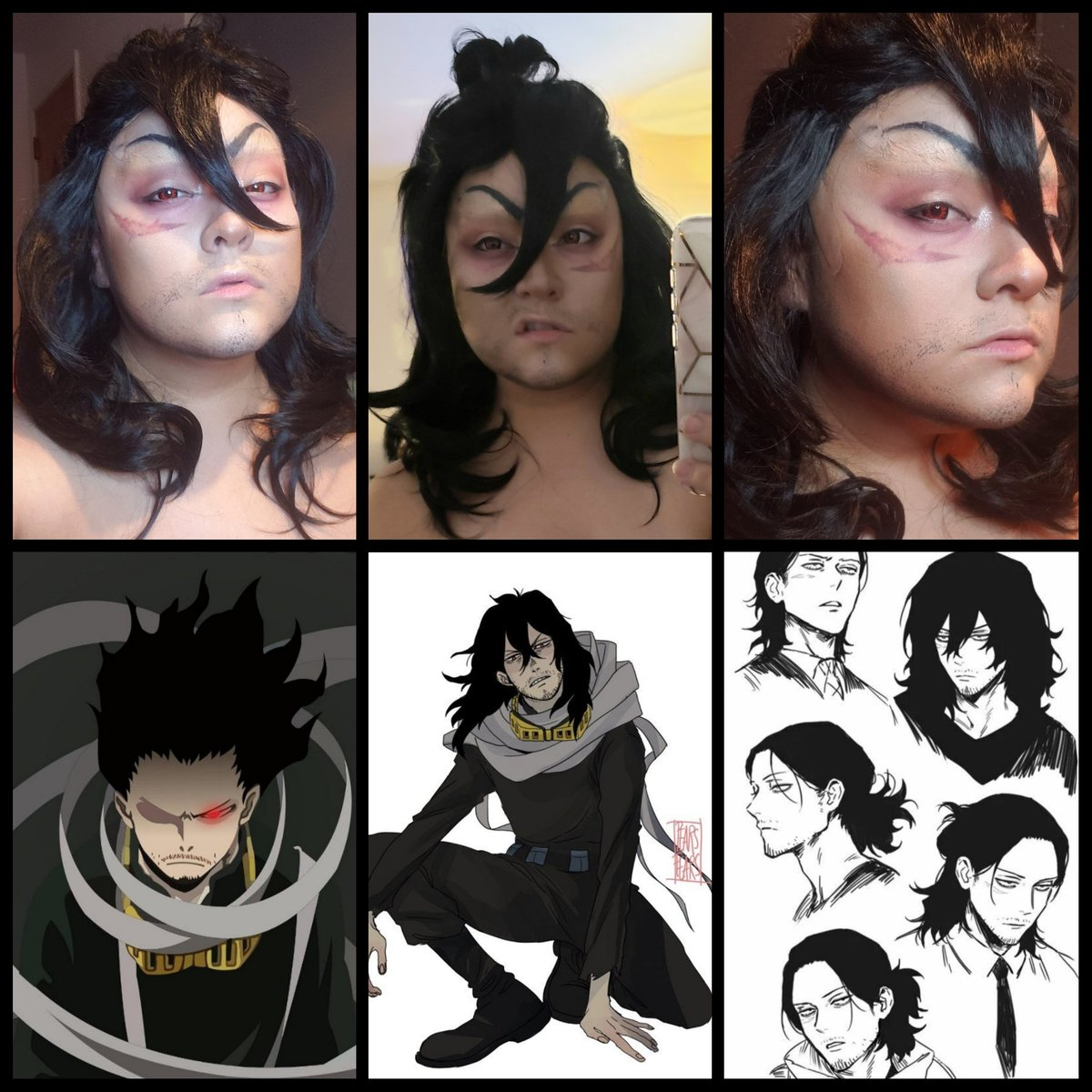 Who else is going to @PAXSouth this weekend? Here's a makeup test for my new cosplay and very first crossplay  Aizawa from My Hero Academia  Makeup by @sharonmacoochee #PAXSouth2020 #costest #aizawashouta #MyHeroAcademia #crossplay pic.twitter.com/BXLgsbSAma