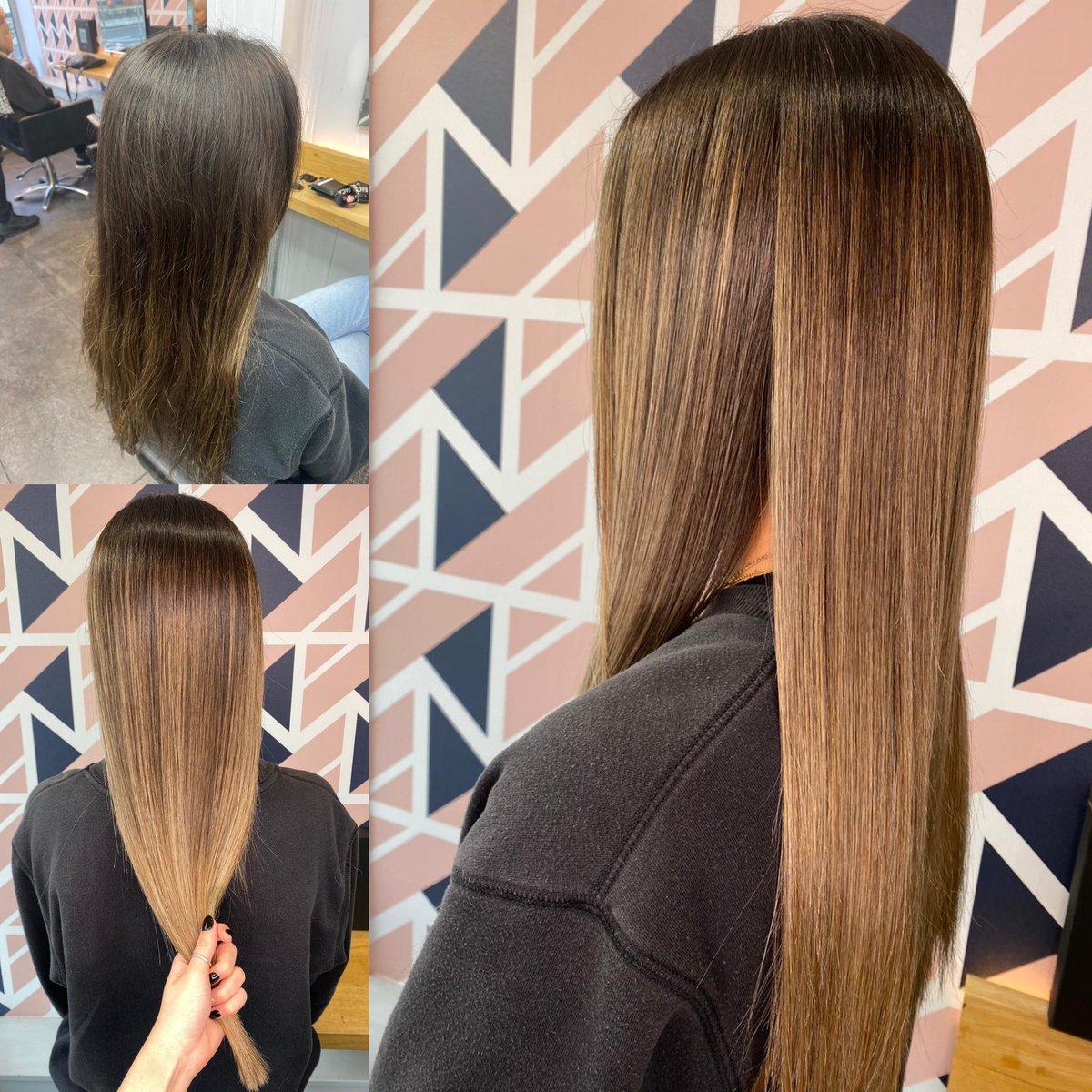 We've got mega hair envy! Great transformation by Daisy #balayage #truro #cornwall #marzipanhair #redken #hairtransformation @redkenukpic.twitter.com/sO2oreK57G