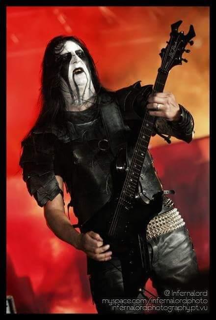 Lord Ahriman (Dark Funeral) #blackmetal <br>http://pic.twitter.com/sN9z6leAyd