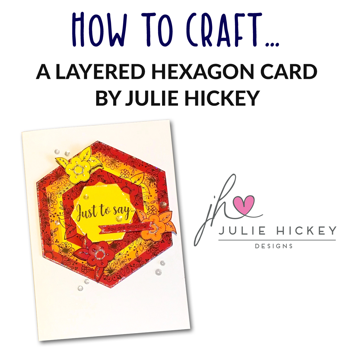 Do you need some crafty inspiration? Then check out our brand new tutorial from Julie Hickey Designs!   View the tutorial http://bit.ly/2G0z5zs pic.twitter.com/Lkg75yX7u6