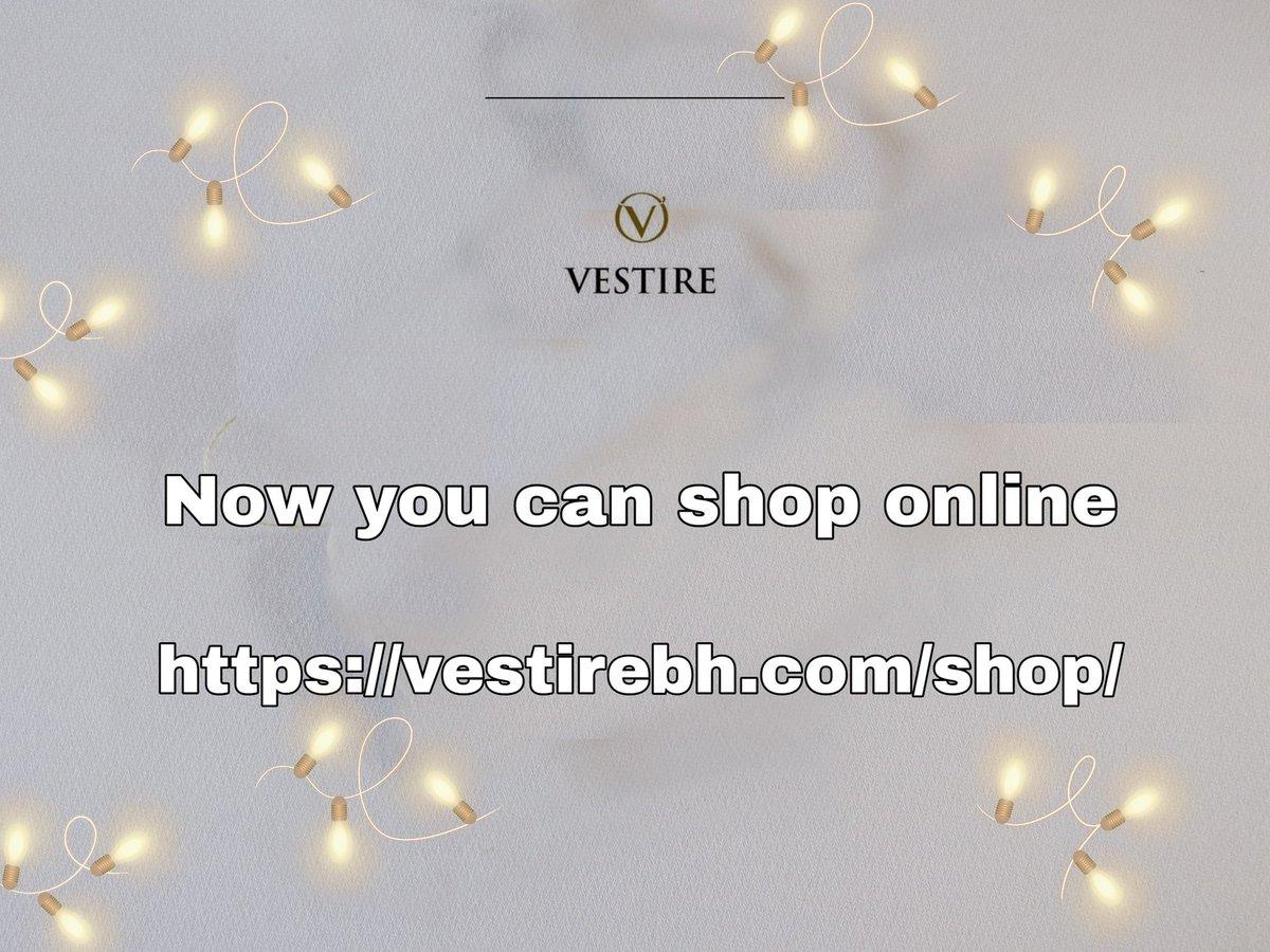 shop online... Visit our website https://vestirebh.com/shop/ . . . .#الحياة الفاخرة#نمط الحياة الفاخرة #متعددة العلامات التجارية#designerwear #bahrainfashion #bahraingirl  ملونة #instadaily #antiquejewelry #fusionwear ملابس #التصوير# instalike  instatag #vestirefashion #اتصل بنا #pic.twitter.com/IBfdpuJhma