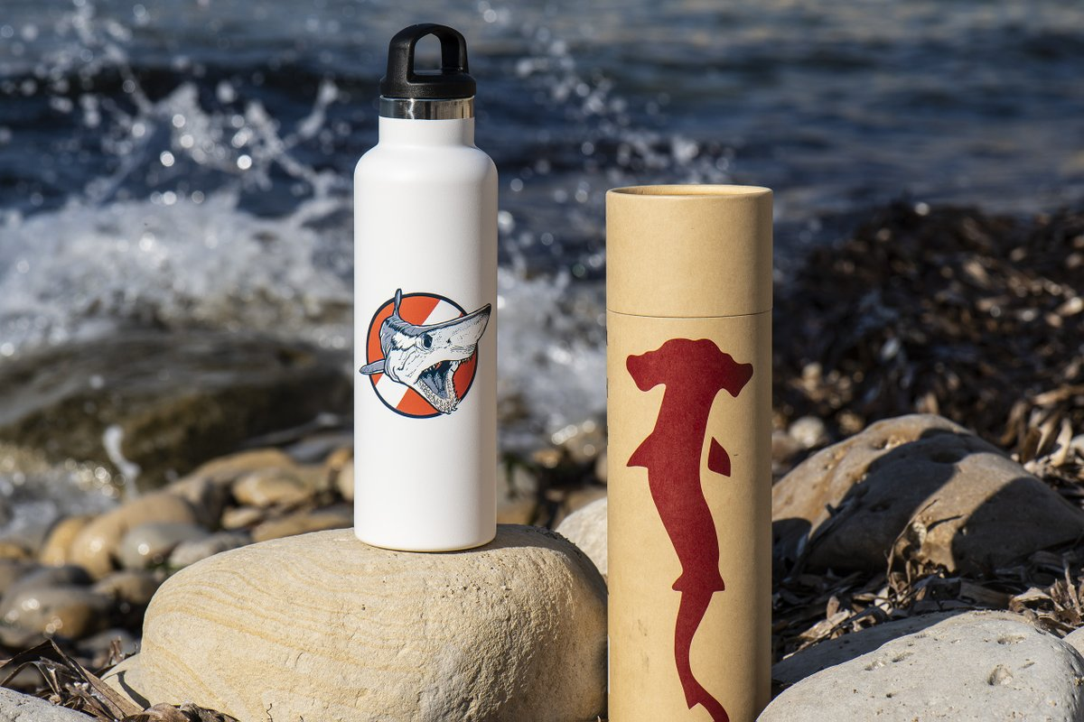 Our bottles come in this ecologicalcardboard box and we're sure you'll find a secondary use for it #shark #sharklovers #makoshark #hammerheadshark #hammerhead #packaging #hydration #reusable #recycle #reusereducerecycle #stopplastic #scubadiving #scubadiver #bucearpic.twitter.com/0fXN2vlxmY