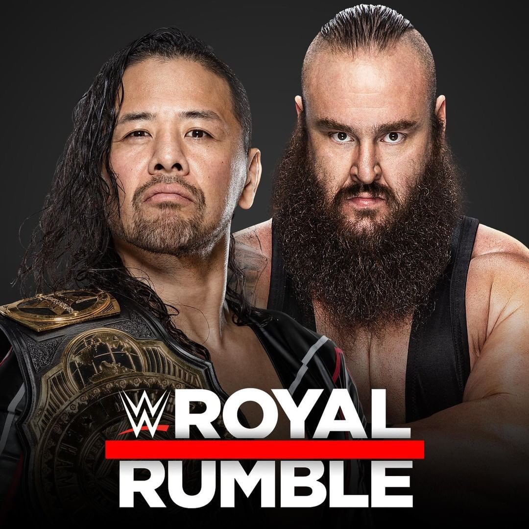 #ICChampion @ShinsukeN and @BraunStrowman have declared for the Men's #RoyalRumble Match!