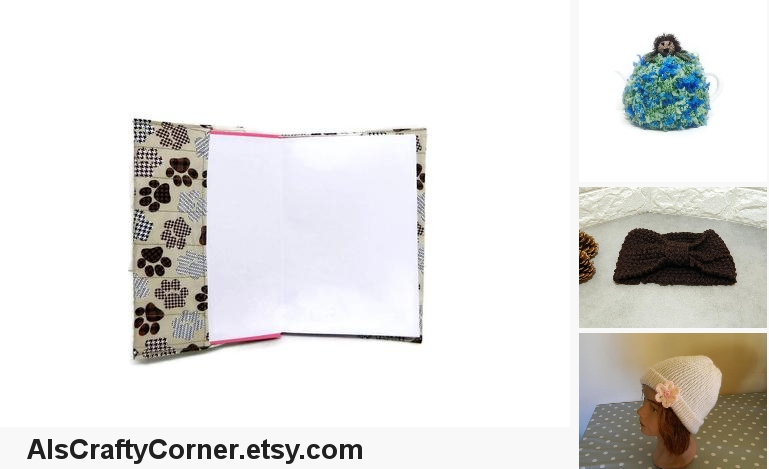 A5 Notebook Cover, pawprint fabric, Journal #booksandzines @EtsyMktgTool https://etsy.me/2PqHhAd  #a5notebookcover #journalcoverpic.twitter.com/vdLfbYQaQZ