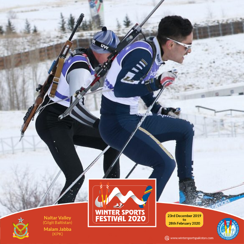 "Our skiers are ready for one more challenging event. ""3rd Cross culture & Biathlon Ski cup 2020 #Skiingpakistan #Skiingsports #WSP #WintersSportsPak #PakistanAirForce #Tour_travels #FIS #LXG #Golootlo #Biathlon #biathlonworld #biathlonfamily"
