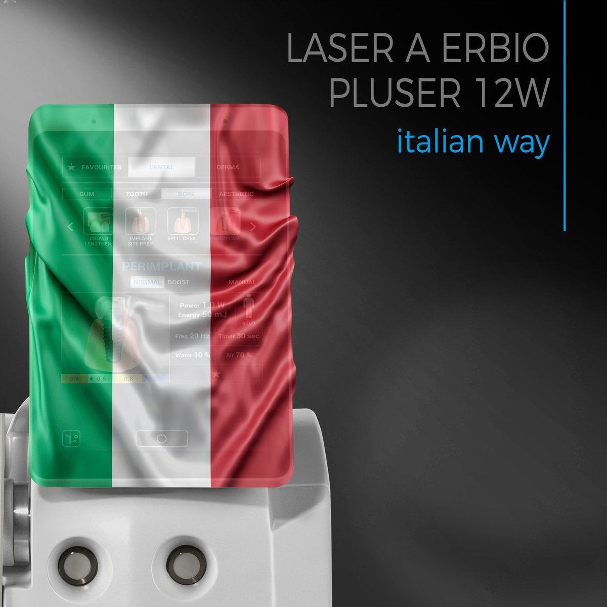 Italian way means not only Italian production but quality of materials used, innovation technology for superior results, safety of chosen clinical protocols, reliability and presence in the post-sale. Italians do it better!  #ErbiumYAG #Laser #Dental #Dentistry #Tooth #Innovativepic.twitter.com/o6xkQ9xP5j